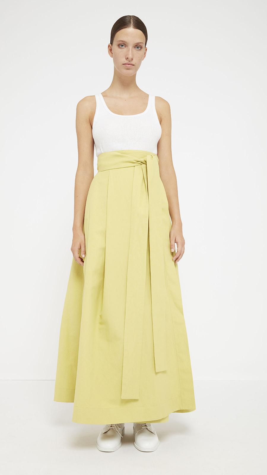 dada-diane-ducasse-jupe-longue-coton-lin-jaune-pe-17-face