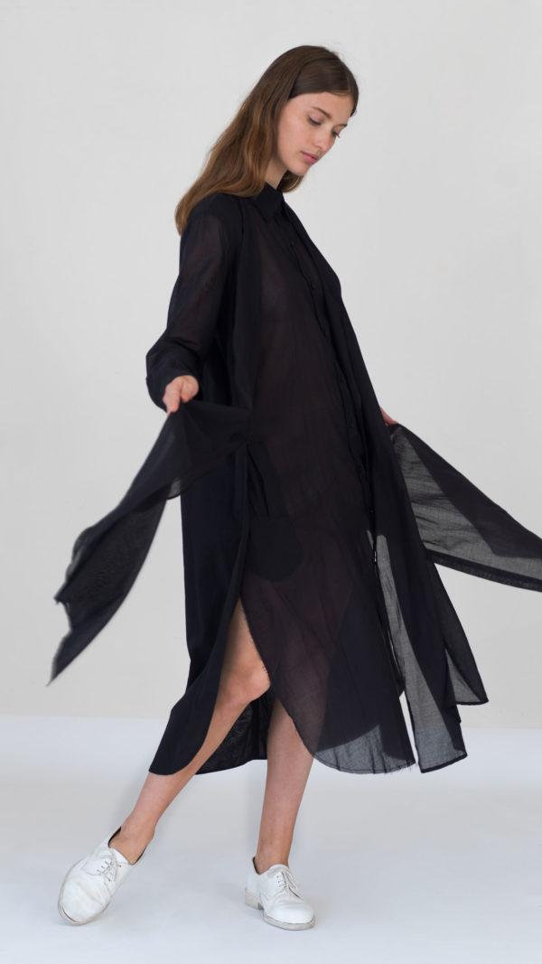 DADA_DIANE_DUCASSE_Dress_Shirt_Knotted_Black_3
