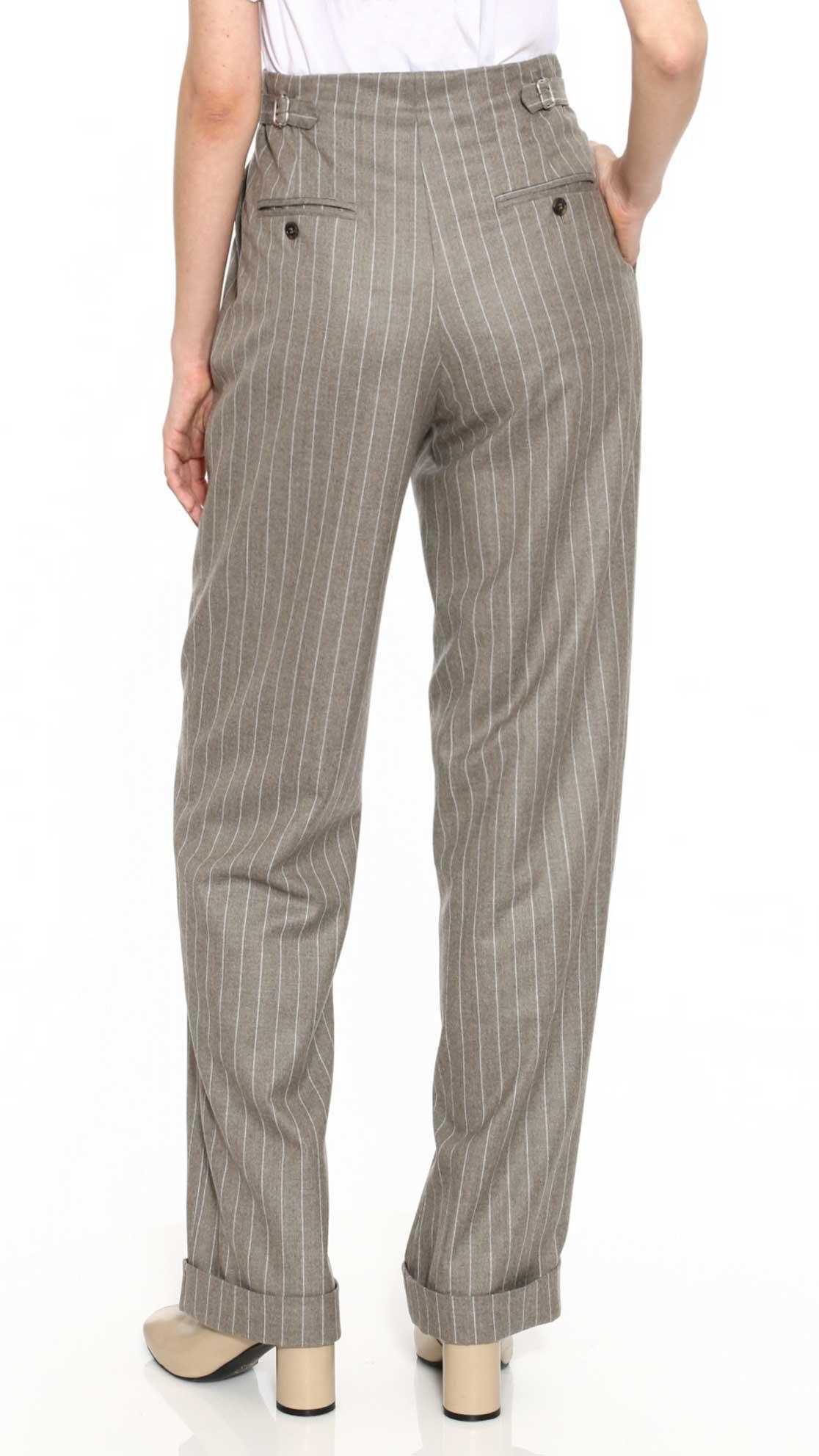 DADA-Diane-Ducasse-AH21-pantalon-droit-jules-laine-beige-gris-rayure-dos