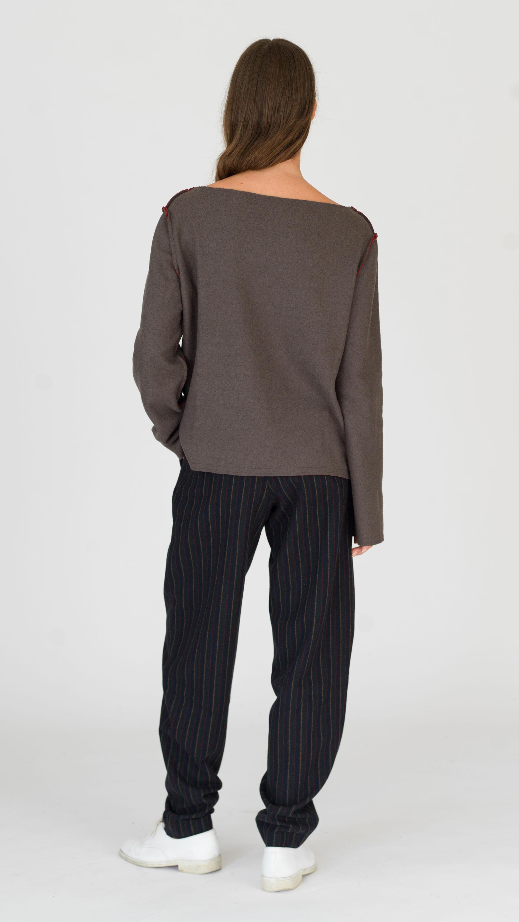 dada-diane-ducasse-pull-bateau-jersey-rouge-khaki-ah-17-dos