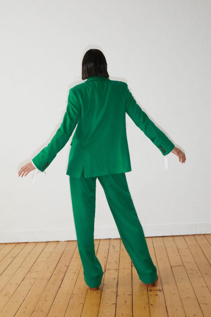 costume vert DADA