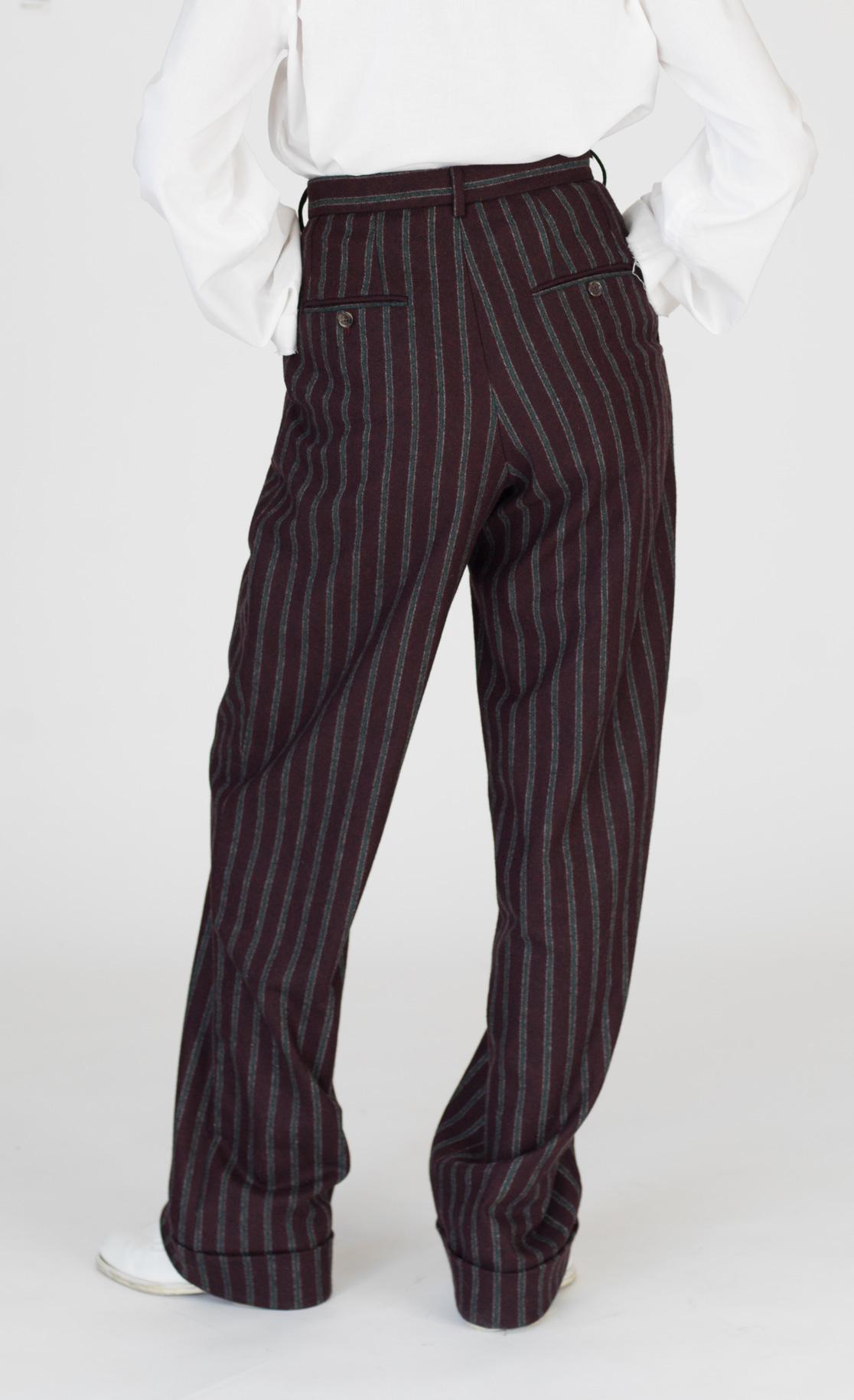 DADA-Diane-Ducasse-AH21-pantalon-droit-jules-laine-bordeaux-rayure-dos