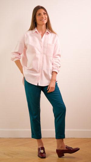 DADA-DIANE-DUCASSE-chemise-oversized-pilou-rose-pantalon-elastique-flanelle-canard-2