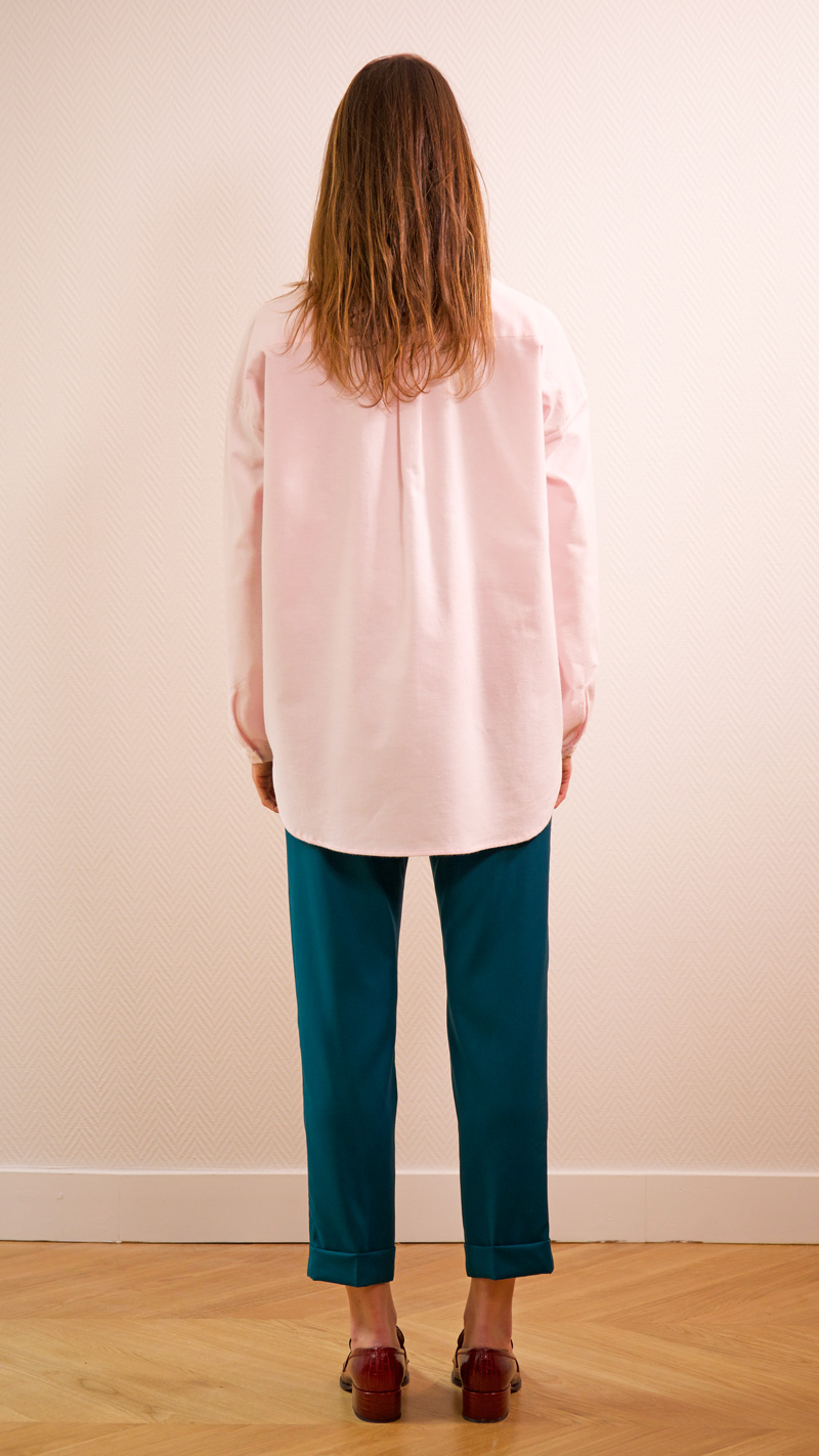 DADA-DIANE-DUCASSE-chemise-oversized-pilou-rose-pantalon-elastique-flanelle-canard-dos