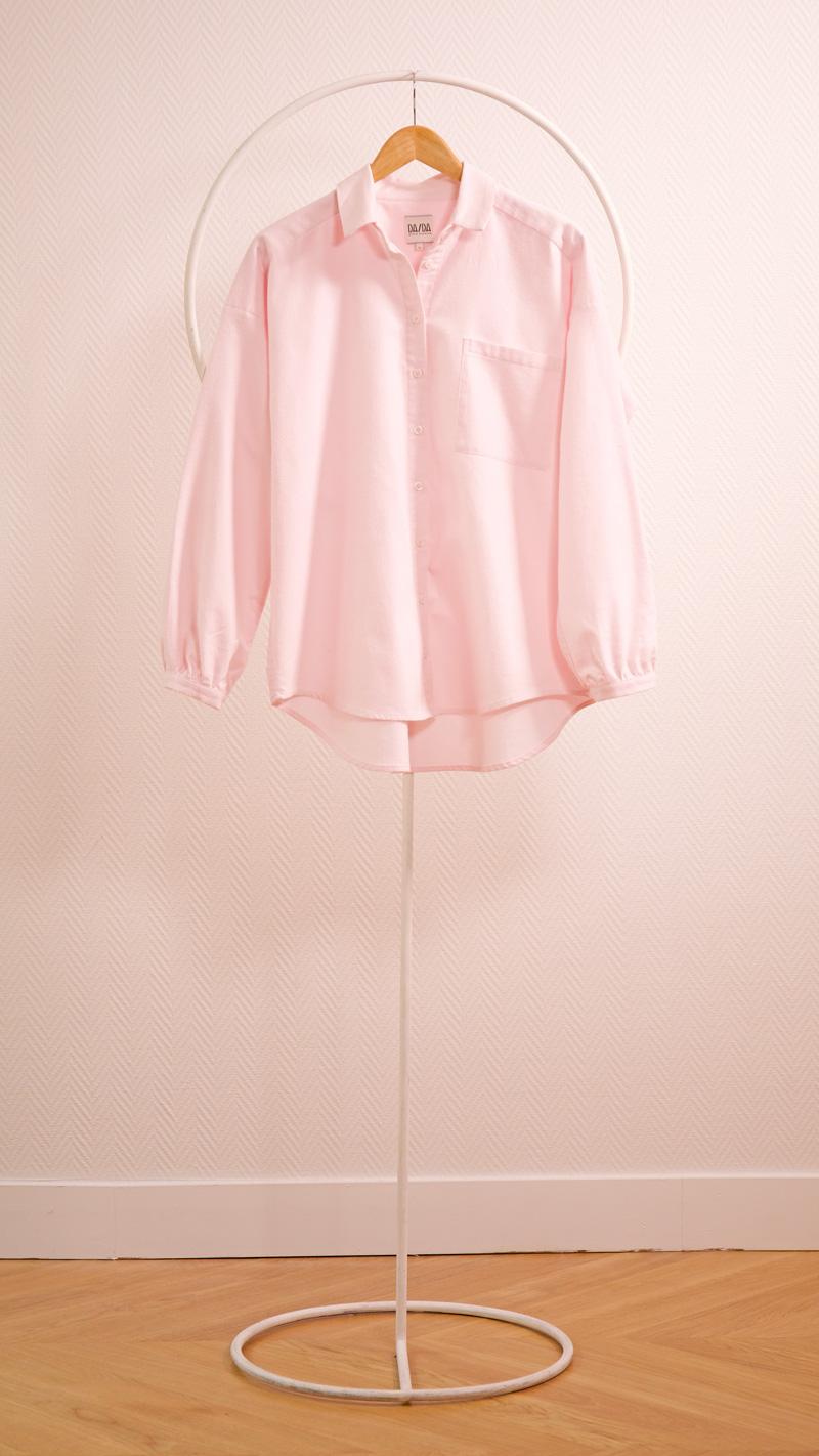 DADA-DIANE-DUCASSE-chemise-oversized-pilou-rose