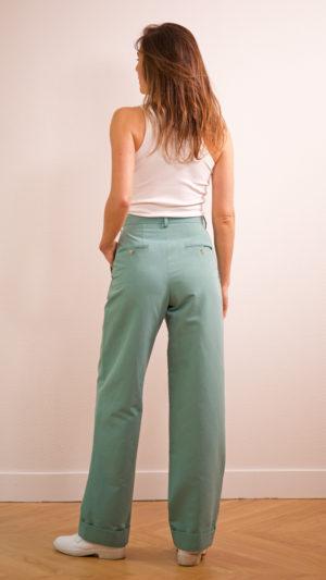 DADA-DIANE-DUCASSE-pantalon-droit-jules-coton-lin-menthe-dos