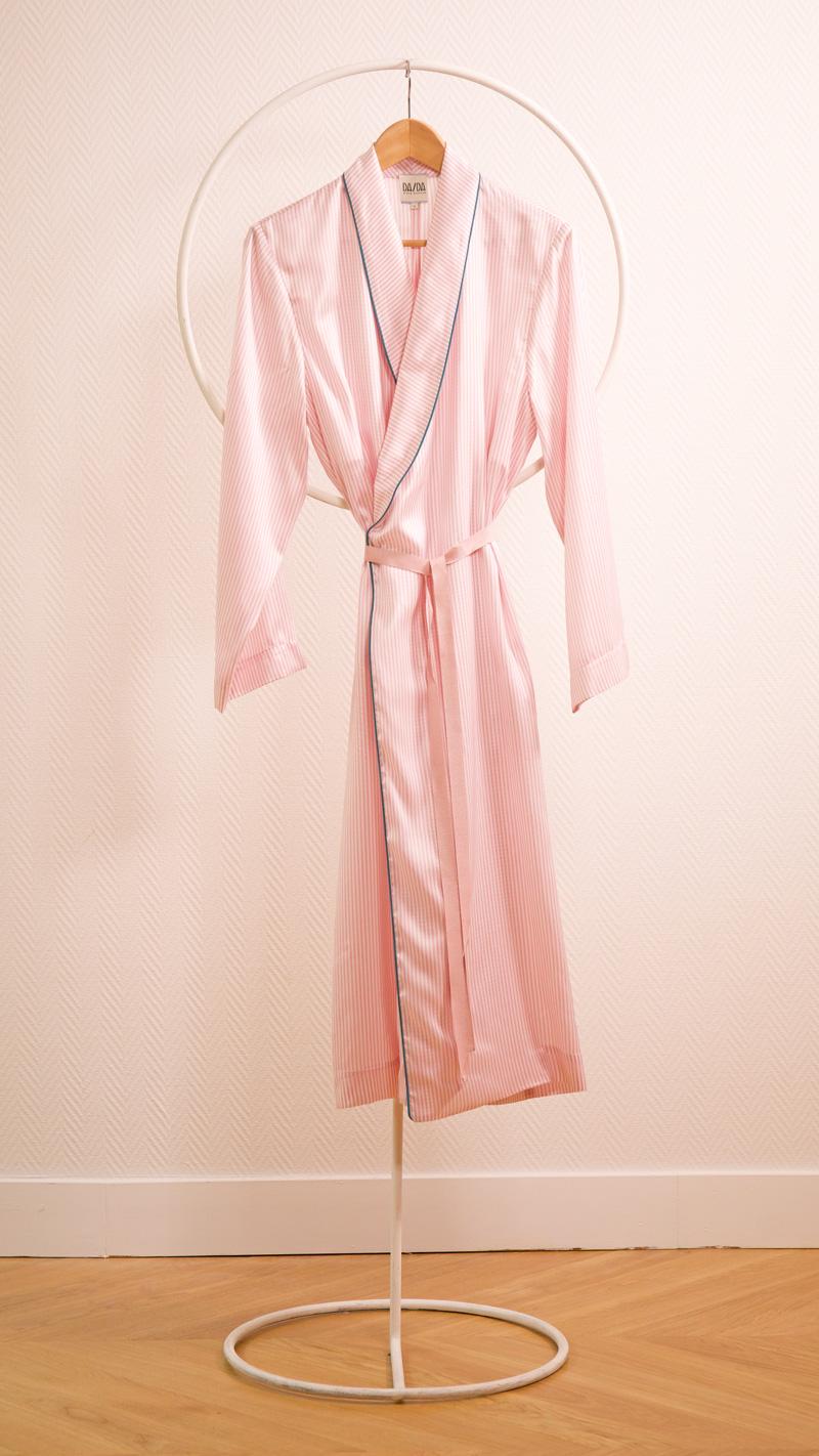 DADA-DIANE-DUCASSE-robe-peignoir-soie-raye-rose-4
