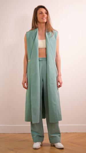 DADA-DIANE-DUCASSE-robe-tailleur-pantalon-jules-coton-lin-menthe-2