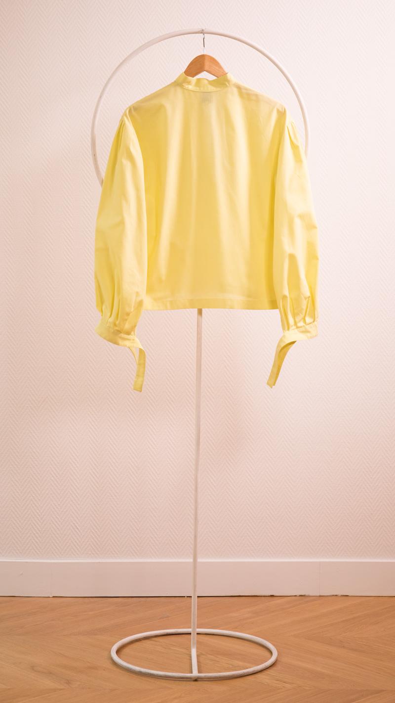 DADA-DIANE-DUCASSE-blouse-bandana-coton-jaune-packshot-dos