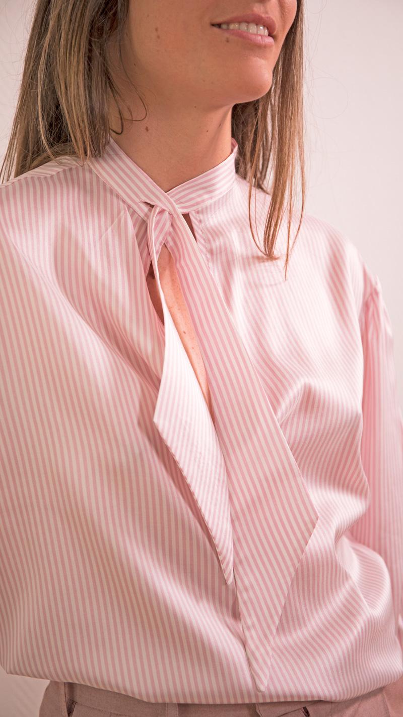 DADA-DIANE-DUCASSE-blouse-bandana-soie-raye-rose-detail-2