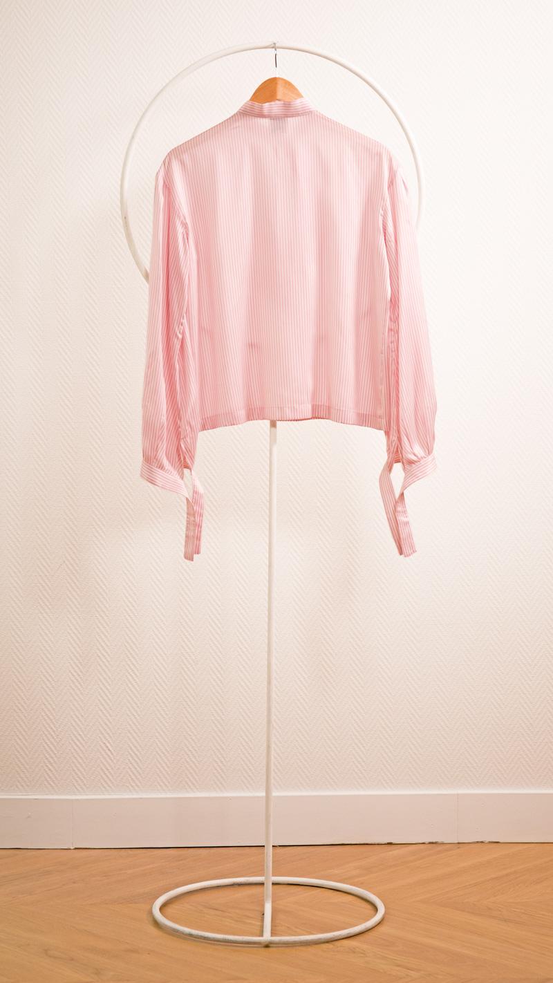 DADA-DIANE-DUCASSE-blouse-bandana-soie-raye-rose-packshot-dos
