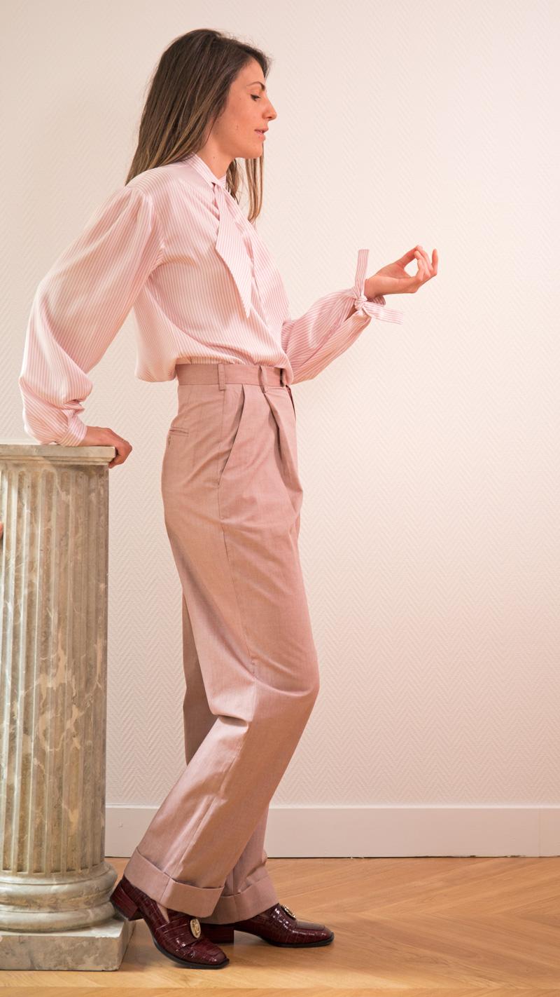 DADA-DIANE-DUCASSE-blouse-bandana-soie-raye-rose-pantalon-jules-coton-3