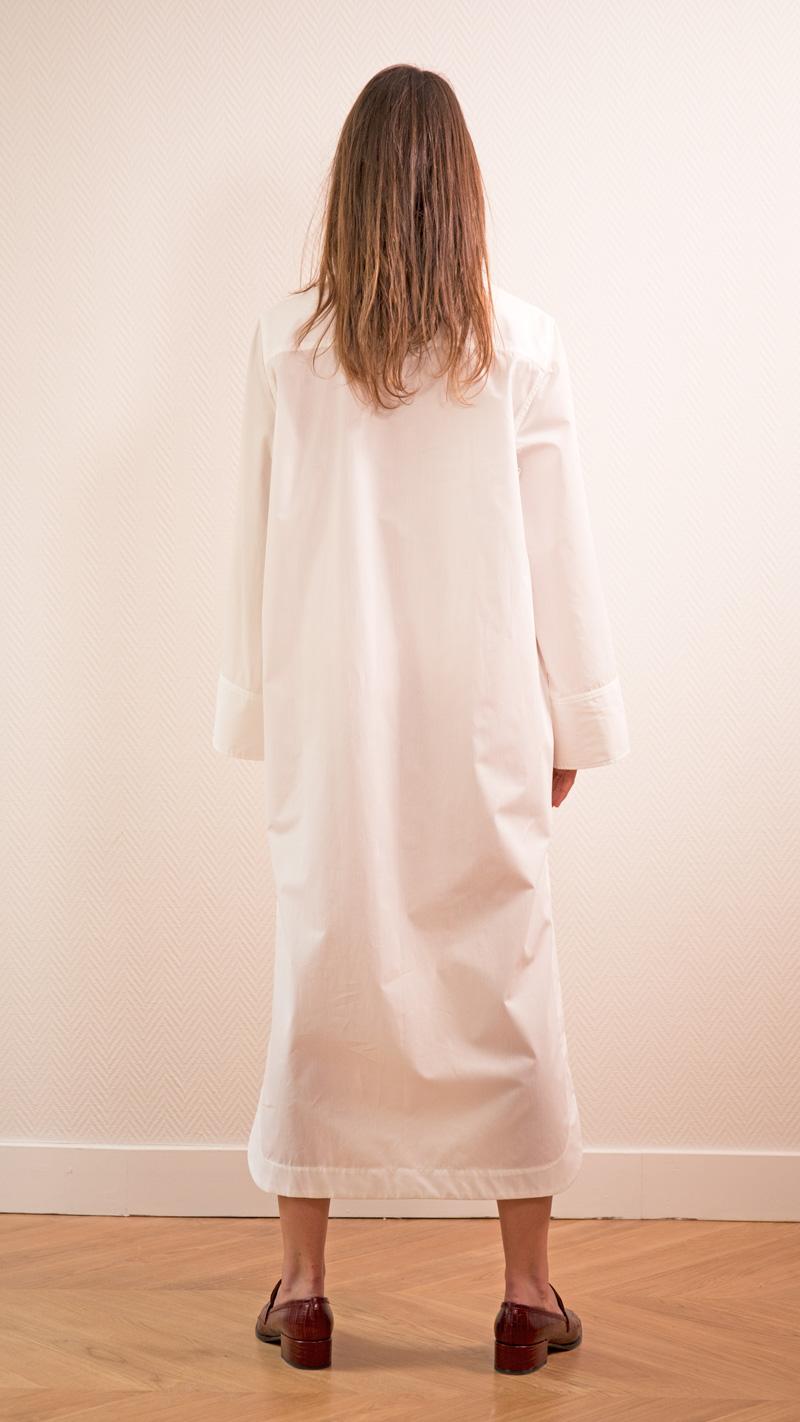 DADA-DIANE-DUCASSE-robe-chemise-oversized-coton-blanc-dos