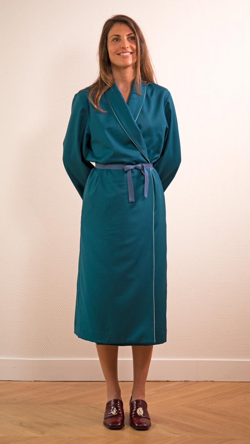 DADA-DIANE-DUCASSE-robe-peignoir-pantalon-slim-elastique-flanelle-bleu-petrole-3