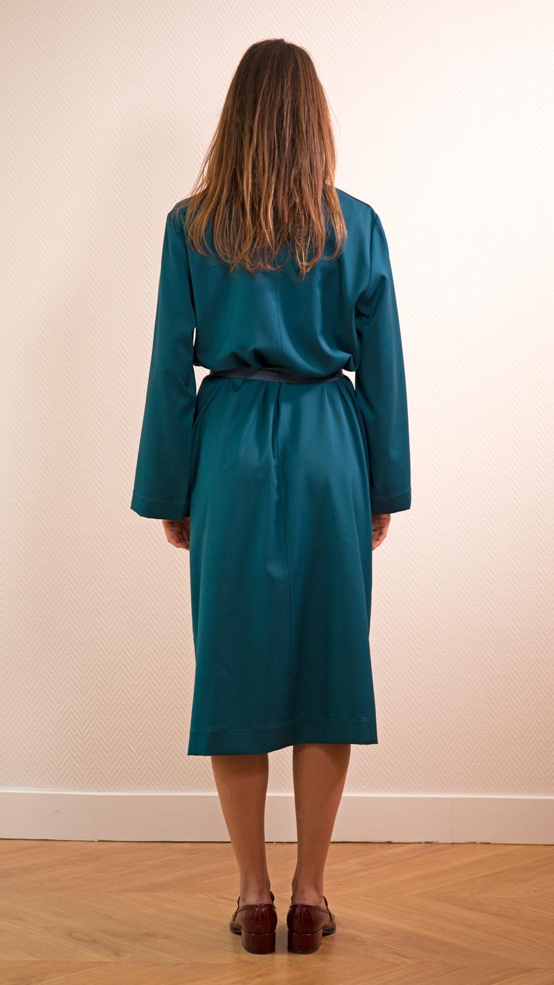 DADA-DIANE-DUCASSE-robe-peignoir-pantalon-slim-elastique-flanelle-bleu-petrole-4