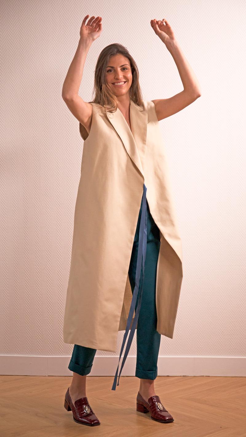 DADA-DIANE-DUCASSE-robe-tailleur-soie-coton-beige