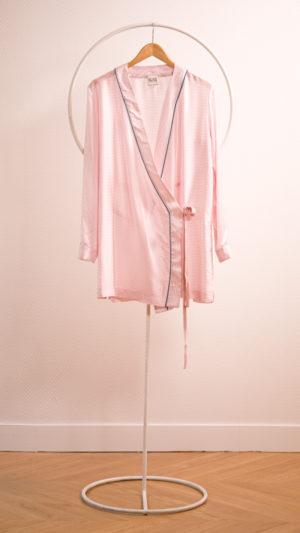 DADA-DIANE-DUCASSE-robe-tunique-soie-rayee-rose-packshot