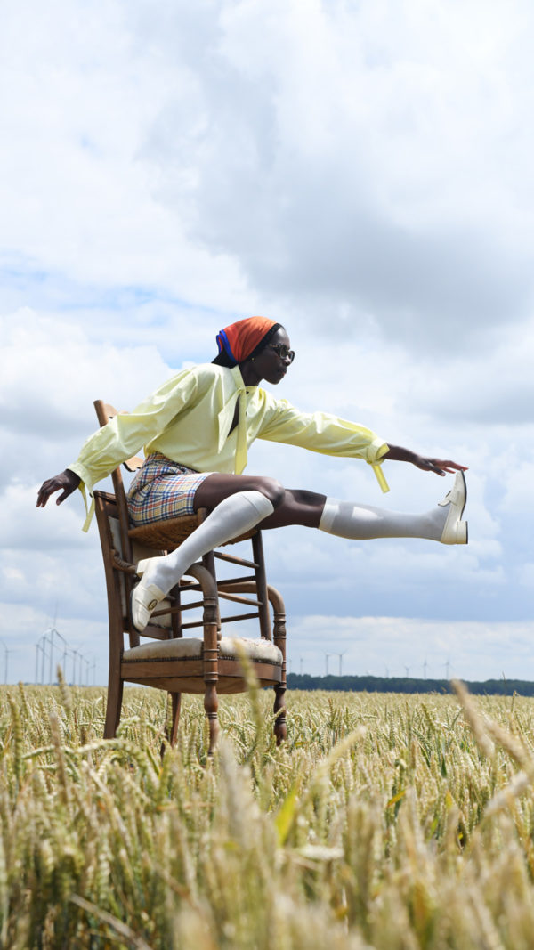 DADA-Diane-Ducasse-PE21-blouse-bandana-jaune-coton-bermuda-carreaux-lin-fp