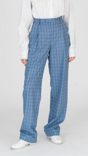 DADA-Diane-Ducasse-AH21-pantalon-droit-jules-flanelle-bleu-carreaux-face-2