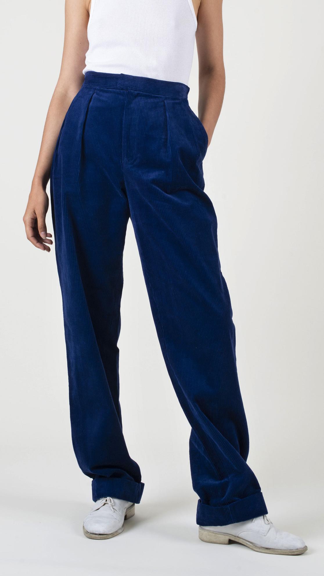DADA-Diane-Ducasse-AH21-pantalon-droit-jules-velours-bleu-roi-face