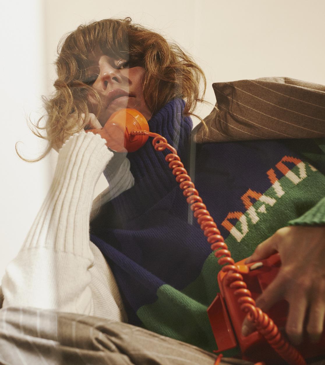 DADA-Diane-Ducasse-costume-laine-rayure-beige-maille-pullover-homepage